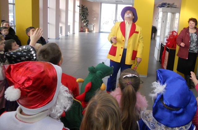 Детские праздники дома и в офисе
