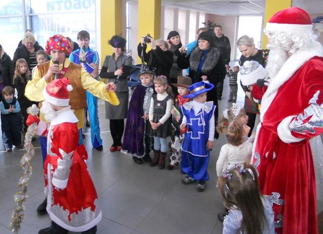 Организация детских праздников Днепропетровск