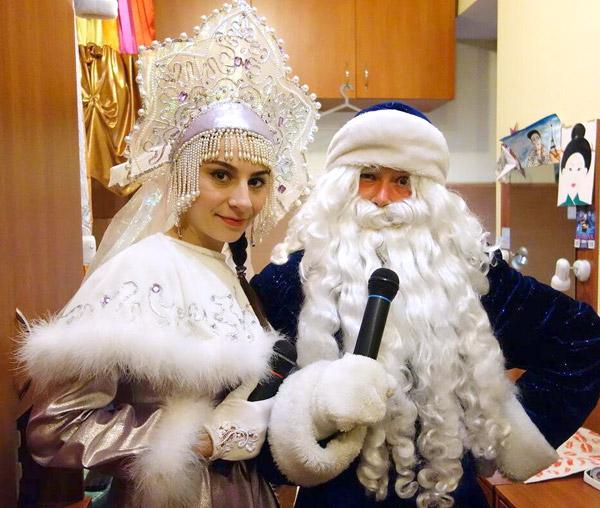 Дед Мороз и Снегурочка. Код 2018-02