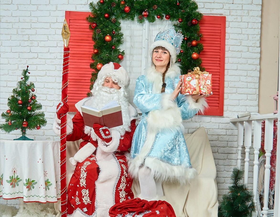 Дед Мороз и Снегурочка. Код 2018-09.