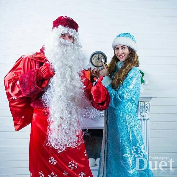 Дед Мороз и Снегурочка. Код 2018-11