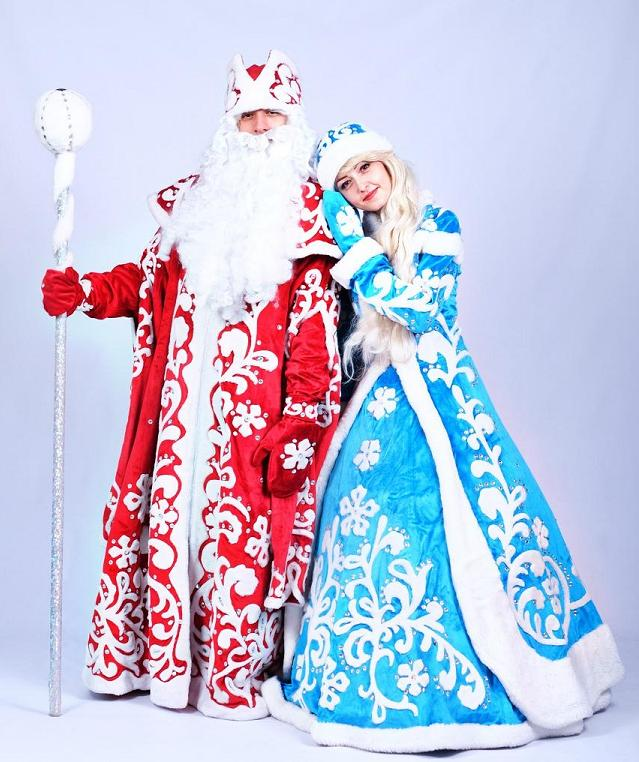 Дед Мороз и Снегурочка. Код 2018-10