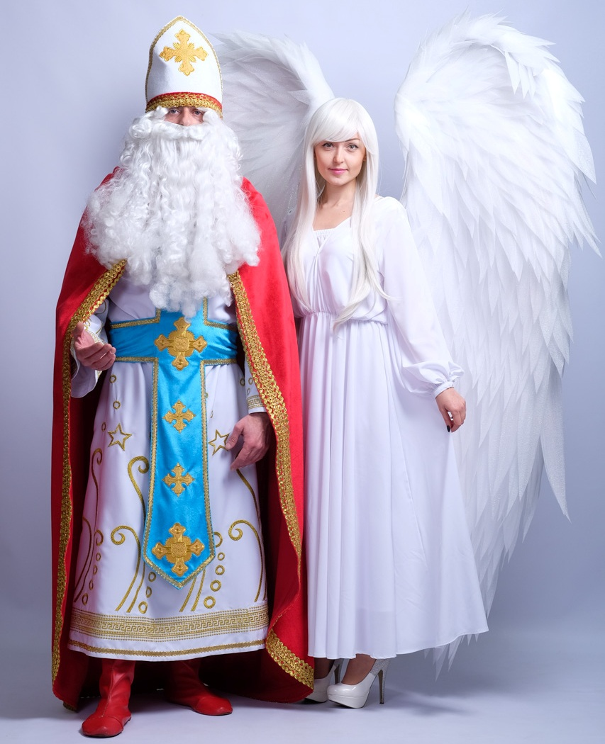 Святой Николай и Ангел Добра